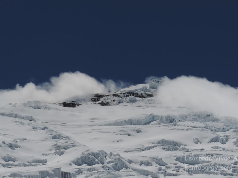 Criaturas Hielo, roca, nieve, agua y sol